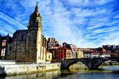 San Anton. Bilbao. Spain. — Foto Stock