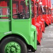 Stock Photo: Routemasters