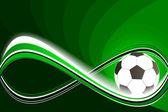 Football, soccer background — Stock Vector