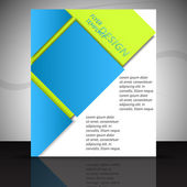 Business flyer or cover design, template — Wektor stockowy