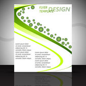 Business flyer or cover design, template — ストックベクタ