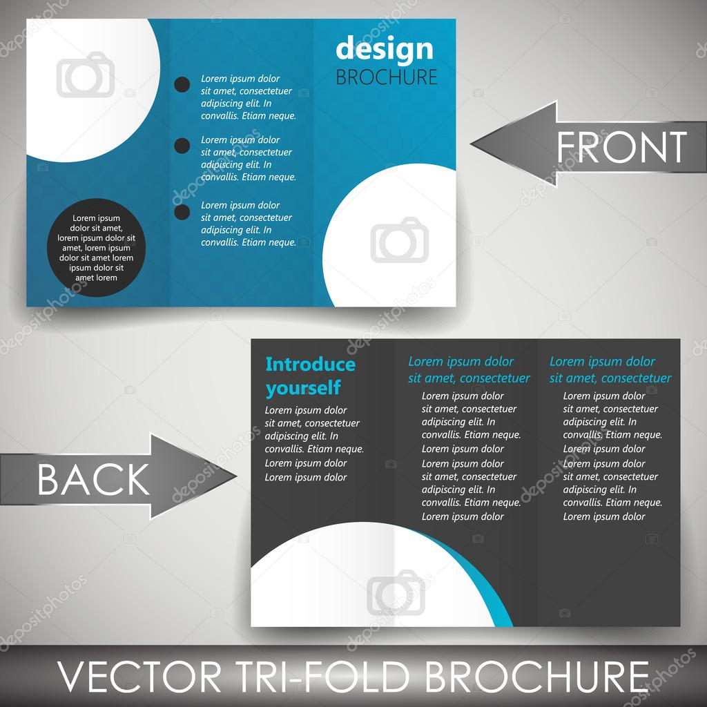 Doc1300564 Three Fold Flyer Template Free Corporate Tri Fold – Three Fold Flyer Template