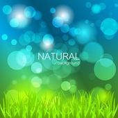 Abstract Vector Hintergrund mit Natur-Thema — Stockvektor