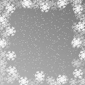 圣诞节壁纸,雪花背景 — 图库矢量图片