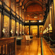 The Long Room at Trinity College — Stock Photo