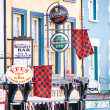 Stock Photo: Advertisement signs, Kenmare