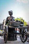 Statue of Molly Malone, Dublin — Stock Photo