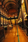 Biblioteca do trinity college, irlanda — Foto Stock