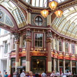 Leadenhall Market, London — Stock Photo