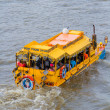 London Duck Tours, Thames River — Stock Photo #39549821