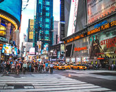 New York City Manhattan Times Square — Stock fotografie