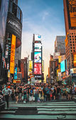 Times Square New York City. — Stock Photo