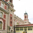 Stock Photo: Ellis Island building, New York