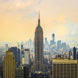 Morning view on New York City — Stock Photo #39889241