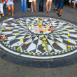 Stock Photo: Imagine, Strawberry fields in Central Park