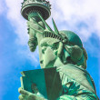 Stock Photo: Statue of Liberty side