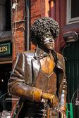 Phil Lynott, Dublin — Stockfoto