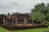 Ruins of Polonnaruwa in Sri Lanka — Stock Photo