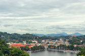 View of Kandy in Sri Lanka — Stock Photo