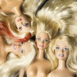 Stock Photo: Barbie background