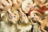 Barbie background — Stock Photo