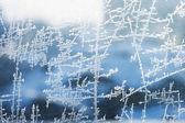 Zmrazit ledově textury — Stock fotografie