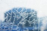 氷のテクスチャを凍結 — ストック写真