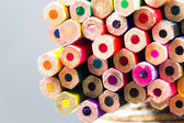 Group of pointless colored pencils — Stock Photo