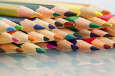 Group of sharp colored pencils — Stock Photo