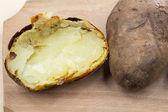 Pieczone ziemniaki z shel — Zdjęcie stockowe