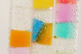 水中管で抽象的な構成 — ストック写真
