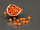 Carnelian gems — Stock Photo