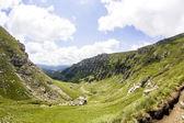 Landscape from Bucegi Mountains, part of Southern Carpathians in Romania — Стоковое фото