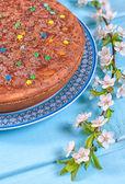 Sweet pie from semolina — ストック写真