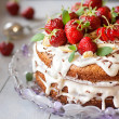 Strawberry cake — Stock Photo #47728355