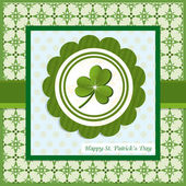 Retro background for St. Patrick's Days — Stock Vector