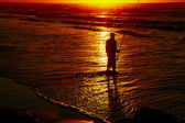 Surfcasting — Photo