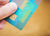 Debit card — Stock Photo