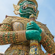 Demon Guardian at Wat Phra Kaew, Bangkok, Thailand. — Stock Photo
