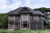 Ancient wood house — Foto Stock