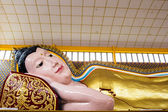 Reclining Buddha Statue at Thai Temple, Malaysia — Stock Photo