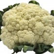 Cauliflower isolated on white background — Stock Photo