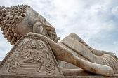 Reclining Buddha, Laos — Stock fotografie