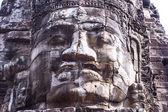 Face of the Bayon temple — Stock Photo