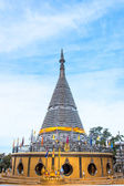 The stainless steel pagoda - Phra Maha Thad Chadi Tri Pob Tri Mo — Stock Photo