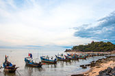 Khao Kao Seng A quaint beachfront Muslim fishing villege Nakorn, — Stock Photo