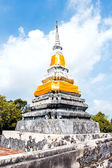 Brothers pagoda on the top of Dang mountain at Songklha province — Stok fotoğraf