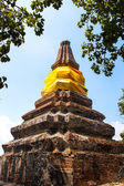 Brothers pagoda on the top of Dang mountain at Songklha province — Стоковое фото