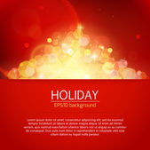 Holiday background — Stock Vector
