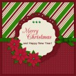 Merry christmas greeting card — Stock Vector #37219507